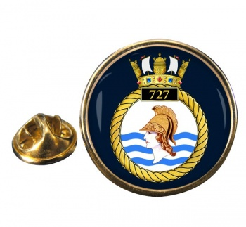 727 Naval Air Squadron (Royal Navy) Round Pin Badge