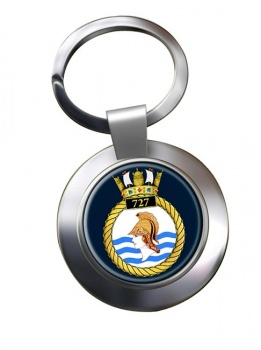 727 Naval Air Squadron (Royal Navy) Chrome Key Ring