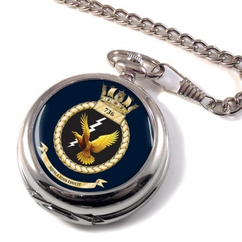 736 Naval Air Squadron (Royal Navy) Pocket Watch