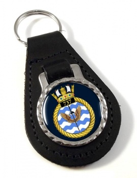 737 Naval Air Squadron (Royal Navy) Leather Key Fob
