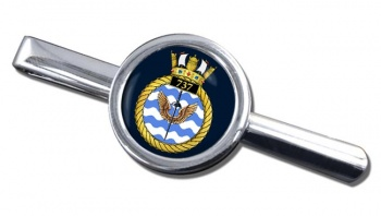 737 Naval Air Squadron (Royal Navy) Round Tie Clip