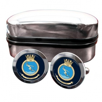 750 Naval Air Squadron (Royal Navy) Round Cufflinks