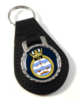 764 Naval Air Squadron (Royal Navy) Leather Key Fob