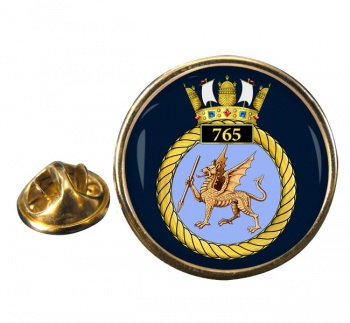 765 Naval Air Squadron (Royal Navy) Round Pin Badge