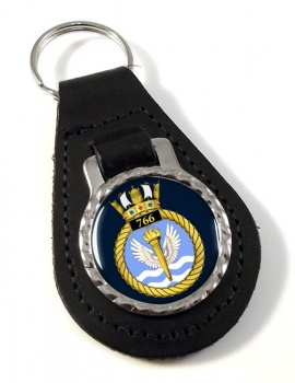 766 Naval Air Squadron (Royal Navy) Leather Key Fob