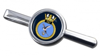 767 Naval Air Squadron (Royal Navy) Round Tie Clip