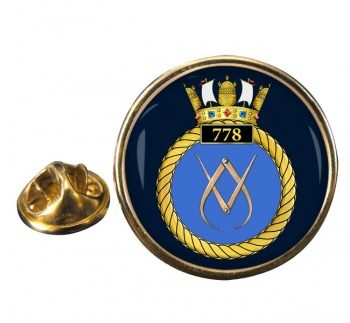 778 Naval Air Squadron (Royal Navy) Round Pin Badge