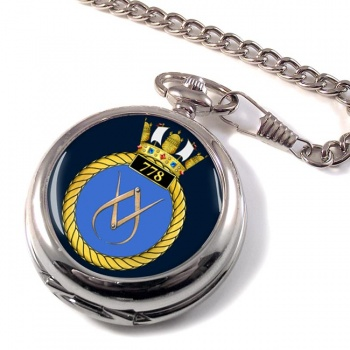 778 Naval Air Squadron (Royal Navy) Pocket Watch