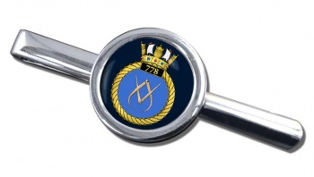 778 Naval Air Squadron (Royal Navy) Round Tie Clip