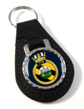 779 Naval Air Squadron (Royal Navy) Leather Key Fob