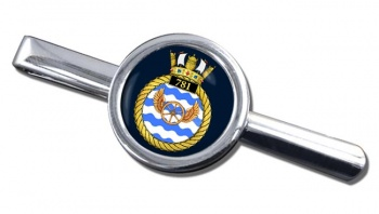 781 Naval Air Squadron (Royal Navy) Round Tie Clip