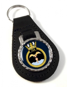 784 Naval Air Squadron (Royal Navy) Leather Key Fob