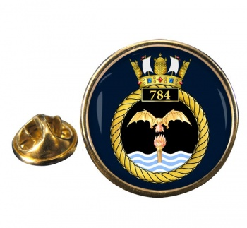 784 Naval Air Squadron (Royal Navy) Round Pin Badge