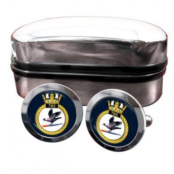 785 Naval Air Squadron (Royal Navy) Round Cufflinks