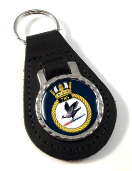 785 Naval Air Squadron (Royal Navy) Leather Key Fob