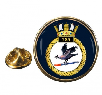 785 Naval Air Squadron (Royal Navy) Round Pin Badge