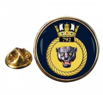 792 Naval Air Squadron (Royal Navy) Round Pin Badge