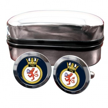 794 Naval Air Squadron (Royal Navy) Round Cufflinks