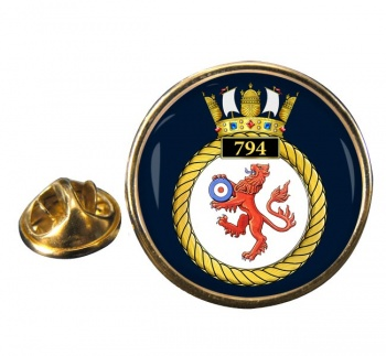 794 Naval Air Squadron (Royal Navy) Round Pin Badge