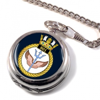 801 Naval Air Squadron (Royal Navy) Pocket Watch