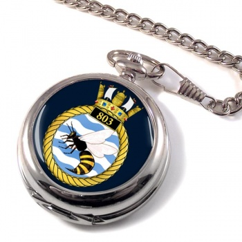 803 Naval Air Squadron Pocket Watch