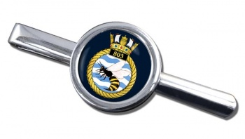 803 Naval Air Squadron (Royal Navy) Round Tie Clip