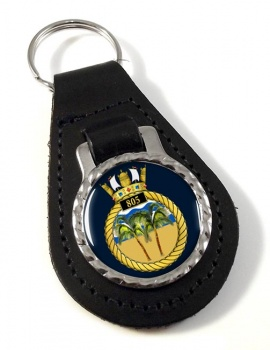 805 Naval Air Squadron  Leather Key Fob