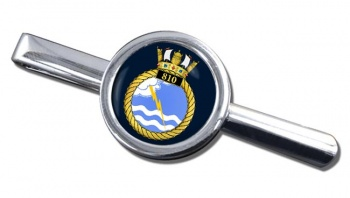 810 Naval Air Squadron (Royal Navy) Round Tie Clip