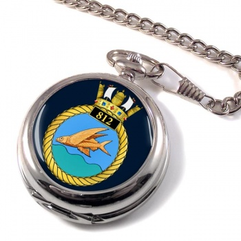812 Naval Air Squadron (Royal Navy) Pocket Watch