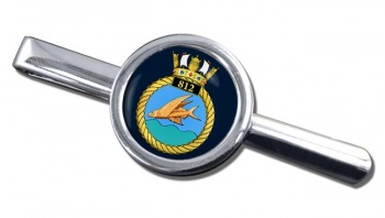 812 Naval Air Squadron (Royal Navy) Round Tie Clip