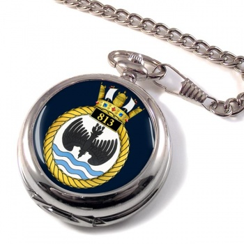 813 Naval Air Squadron (Royal Navy) Pocket Watch