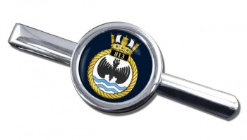 813 Naval Air Squadron (Royal Navy) Round Tie Clip