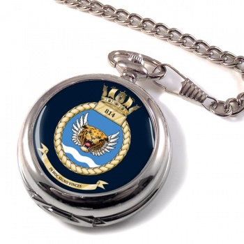 814 Naval Air Squadron (Royal Navy) Pocket Watch