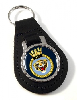 816 Naval Air Squadron (Royal Navy) Leather Key Fob