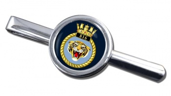 816 Naval Air Squadron (Royal Navy) Round Tie Clip