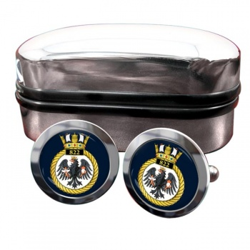 822 Naval Air Squadron (Royal Navy) Round Cufflinks
