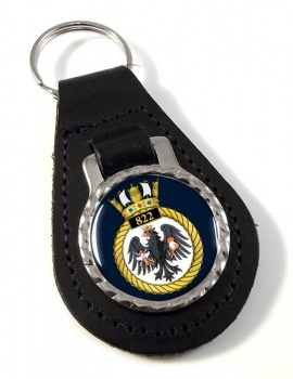 822 Naval Air Squadron (Royal Navy) Leather Key Fob