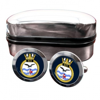 823 Naval Air Squadron (Royal Navy) Round Cufflinks
