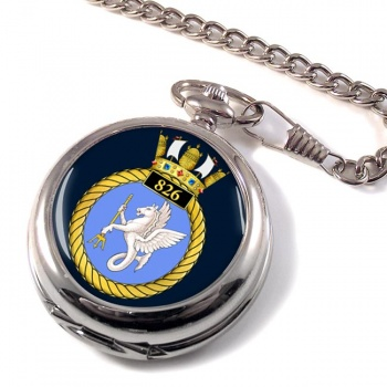 826 Naval Air Squadron Pocket Watch