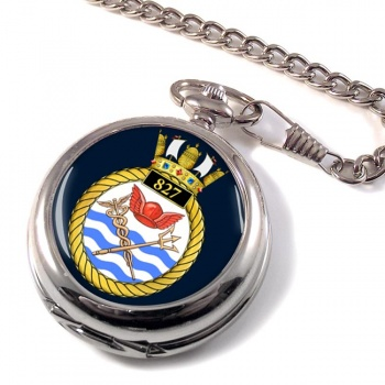 827 Naval Air Squadron (Royal Navy) Pocket Watch