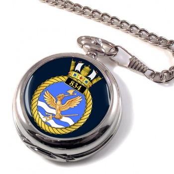 834 Naval Air Squadron Pocket Watch