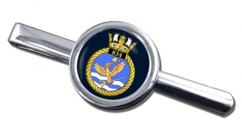 834 Naval Air Squadron (Royal Navy) Round Tie Clip