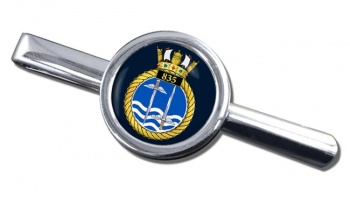 835 Naval Air Squadron (Royal Navy) Round Tie Clip