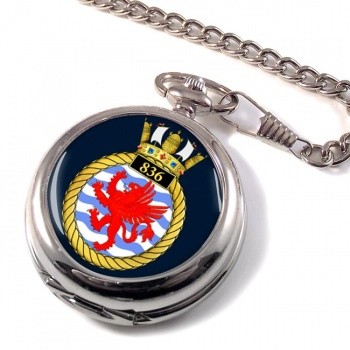 836 Naval Air Squadron Pocket Watch