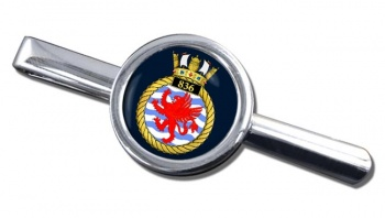 836 Naval Air Squadron (Royal Navy) Round Tie Clip