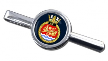 837 Naval Air Squadron (Royal Navy) Round Tie Clip