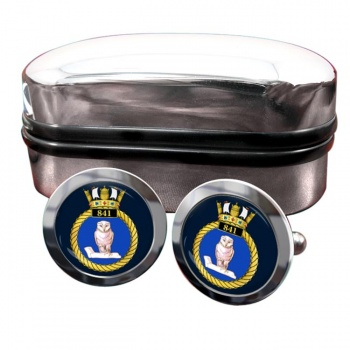 841 Naval Air Squadron (Royal Navy) Round Cufflinks