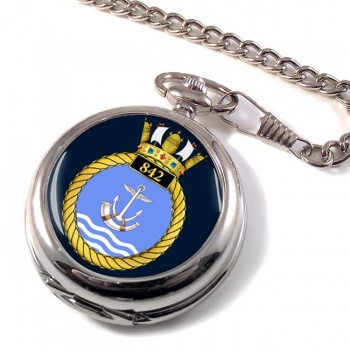 842 Naval Air Squadron (Royal Navy) Pocket Watch