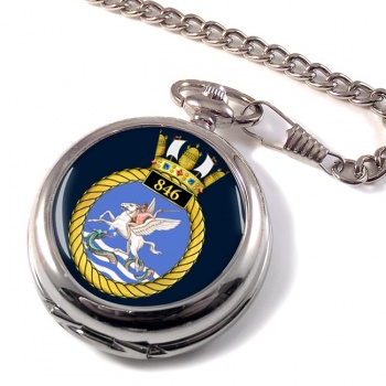 846 Naval Air Squadron Pocket Watch