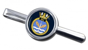 881 Naval Air Squadron (Royal Navy) Round Tie Clip